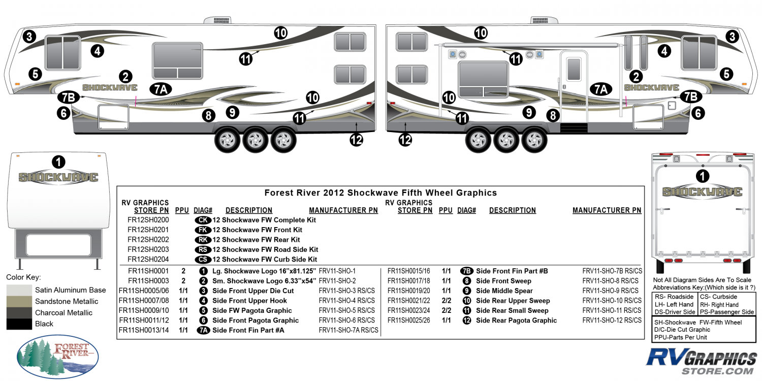 Shockwave - 2012 Shockwave FW-Fifth Wheel
