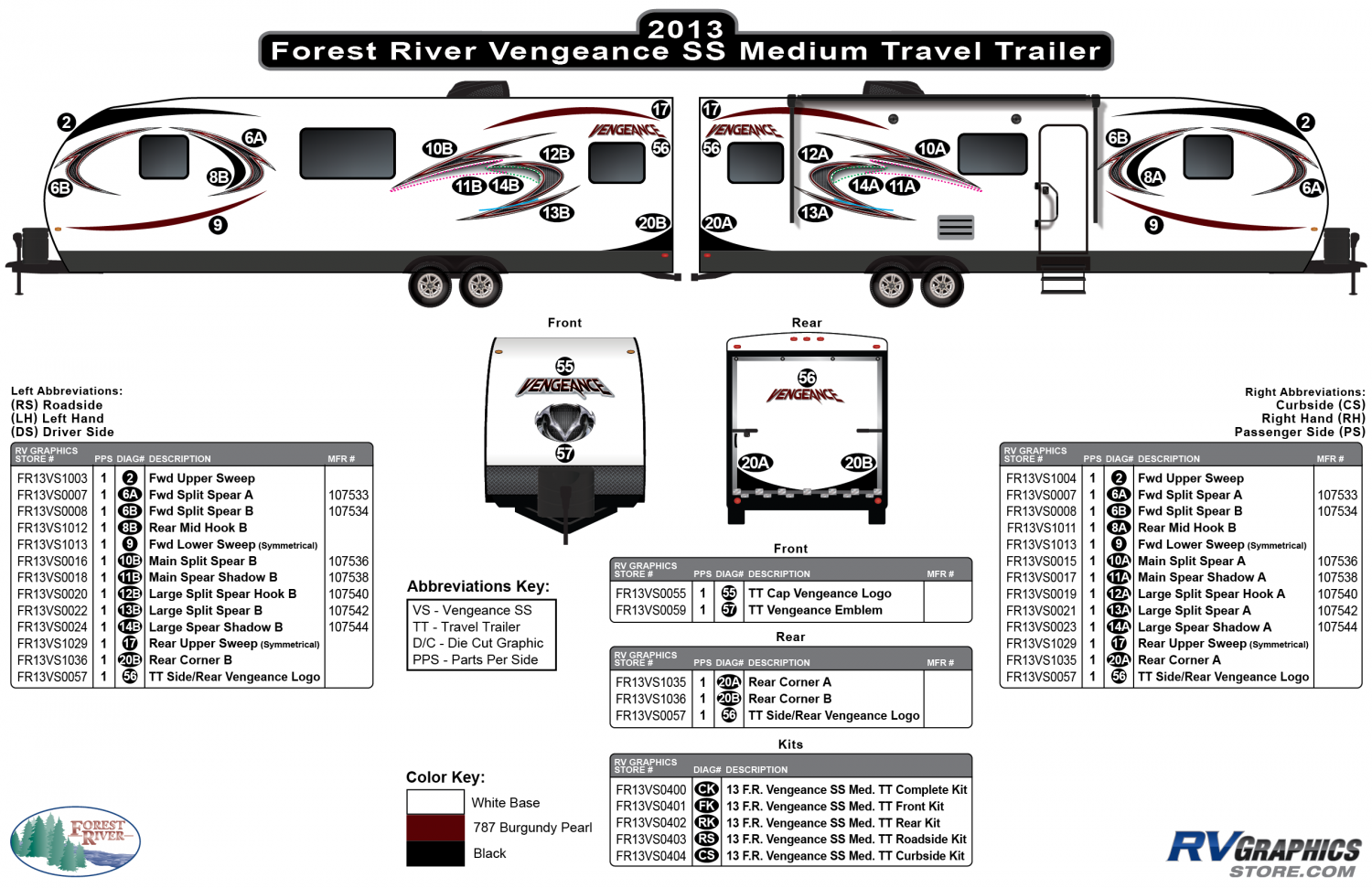 Vengeance - 2013 Vengeance Medium Travel Trailer