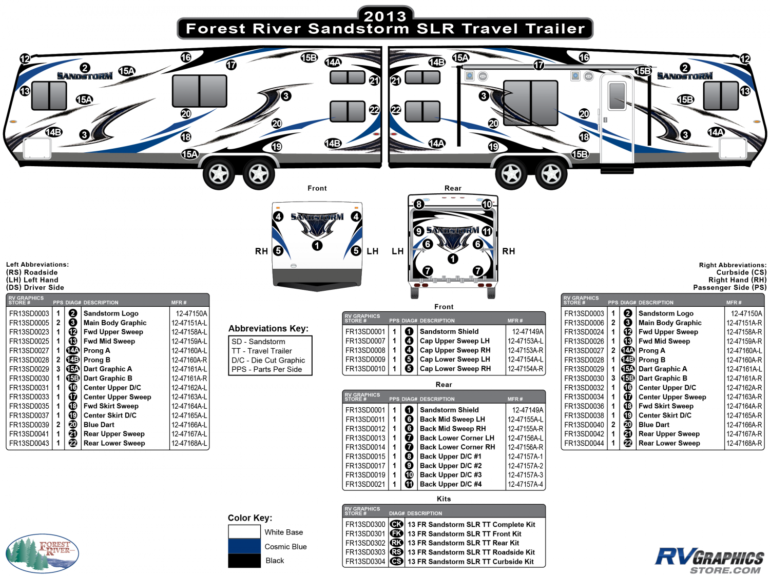 Sandstorm - 2013-2014 Sandstorm Lg TT-Large Travel Trailer