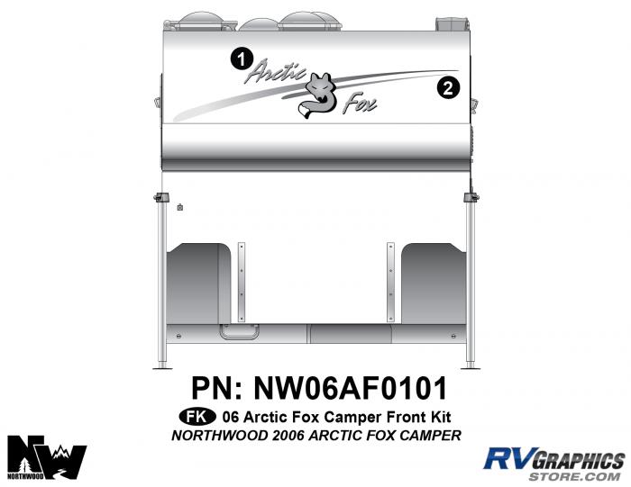 2006 Arctic Fox Camper Front Kit
