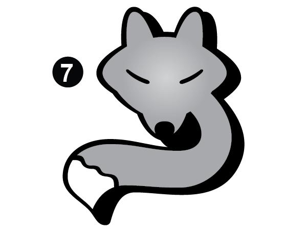 Medium Fox Head