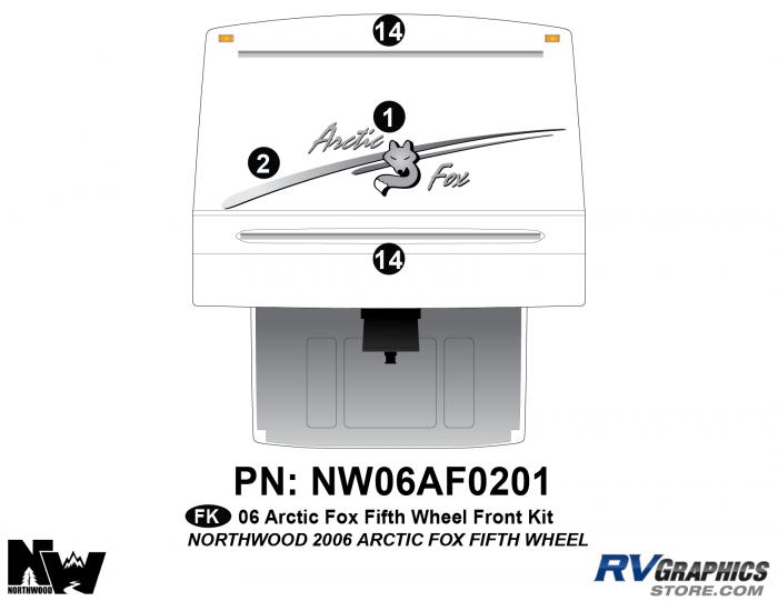 2006 Arctic Fox FW Front Kit