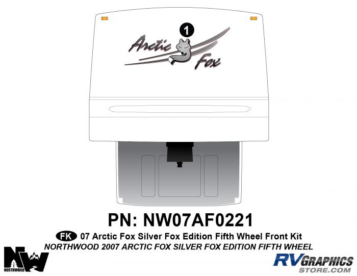2007 Arctic Fox Silver Fox Edition Front Kit