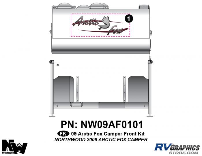 2009 Arctic Fox Camper Front Kit