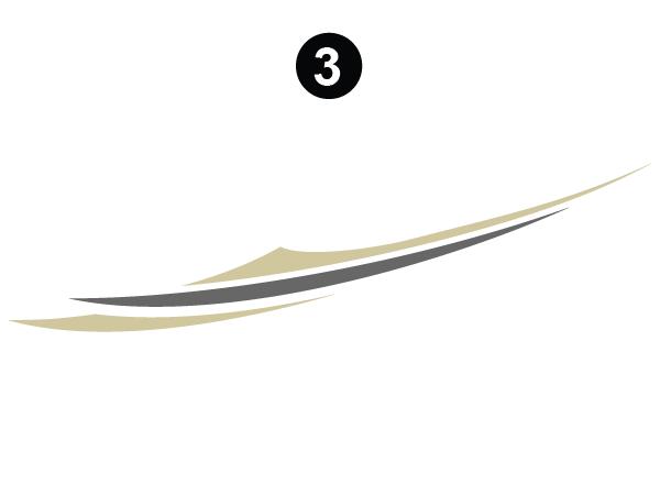 Champagne Triple RS/Rear