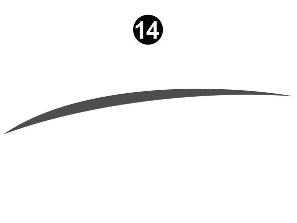 Gray Long Sweep RH