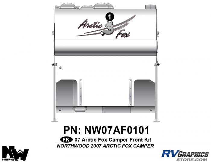 2007 Arctic Fox Camper Front Kit