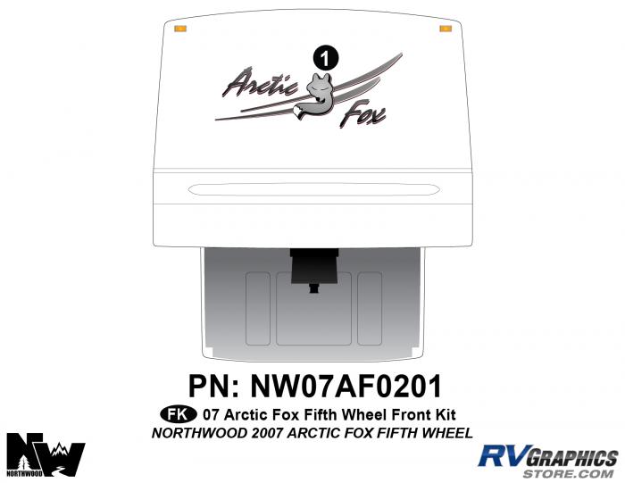 2007 Arctic Fox Fifth Wheel Front Kit