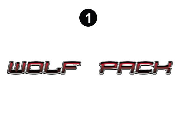 Large Wolf Pack logo