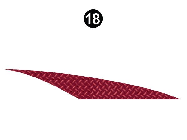 Side Red Diamond
