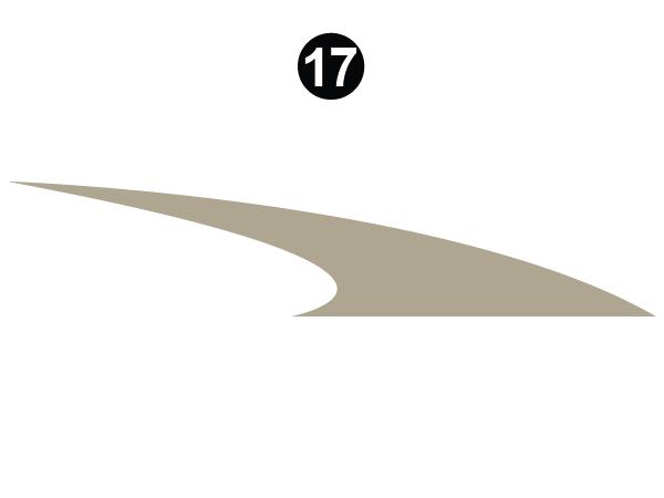 Side Lower Mid Swoop-RS Roadside/Left Driver