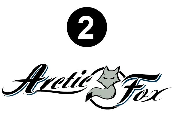 Side Arctic Fox logo
