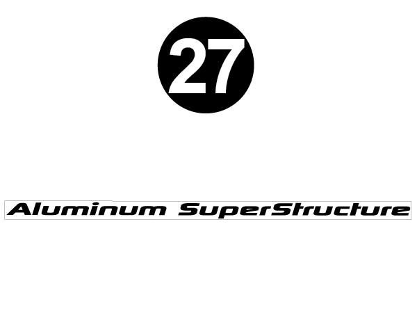 Aluminum Superstructure