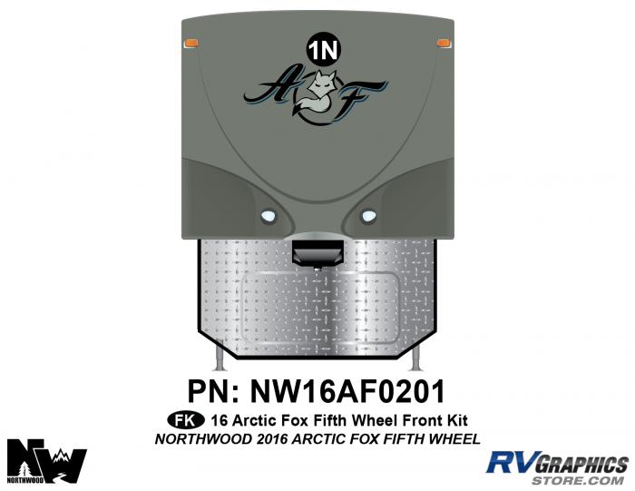 2016 Arctic Fox Fifth Wheel Front Kit