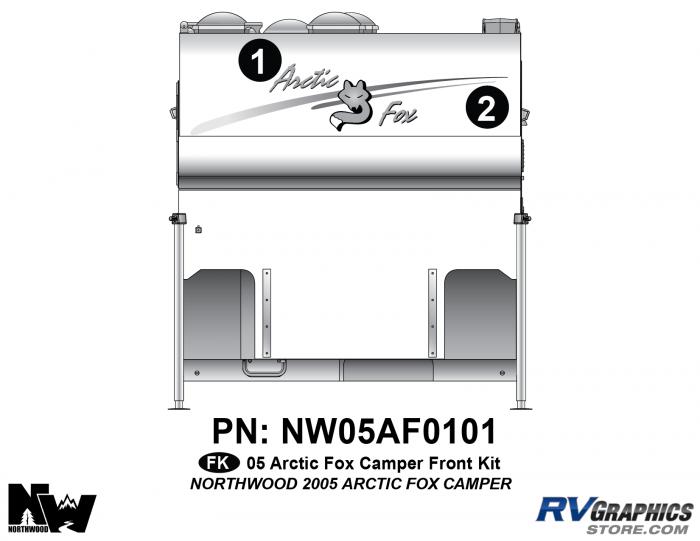 2005 Arctic Fox Camper Front Kit