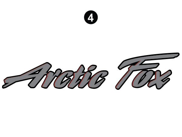 Rear Upper Arctic Fox Logo