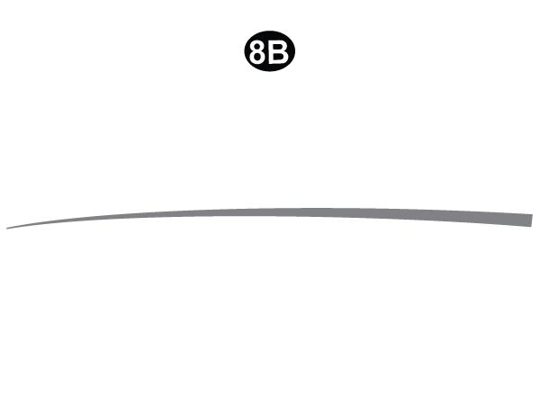 "Solid Sweep B 109.3"""