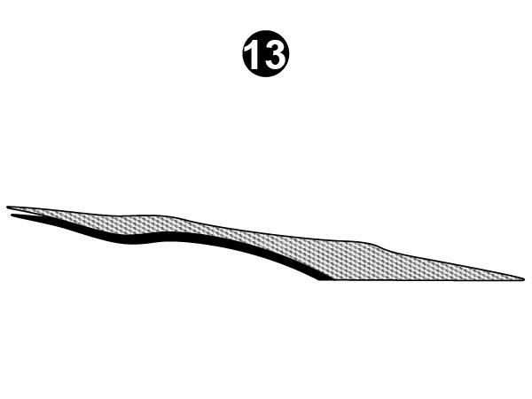 Side Rear Bottom Die Cut-CS/RH/PS