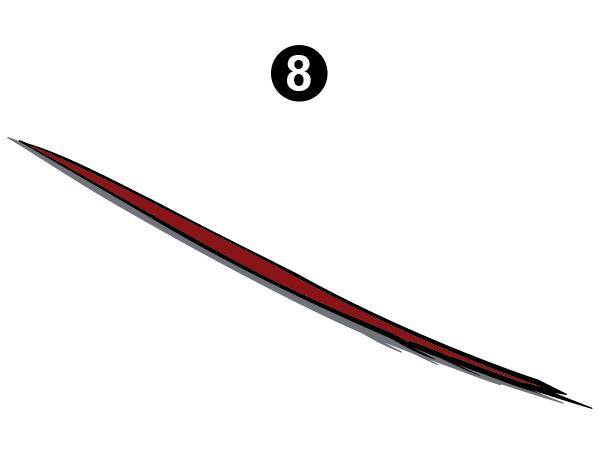 Side Middle Die Cut #2-CS/RH/PS