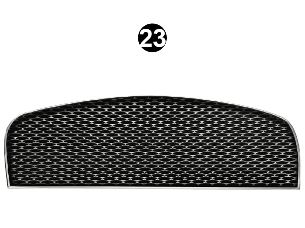 Front Grill Die Cut