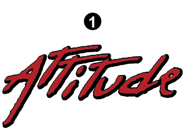 """Large Attitude Logo 52"""""""