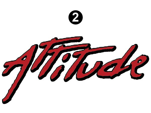 """Small Attitude Logo 39.5"""""""