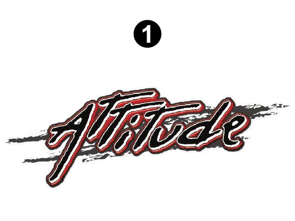 """Large Attitude Logo 54.5"""""""