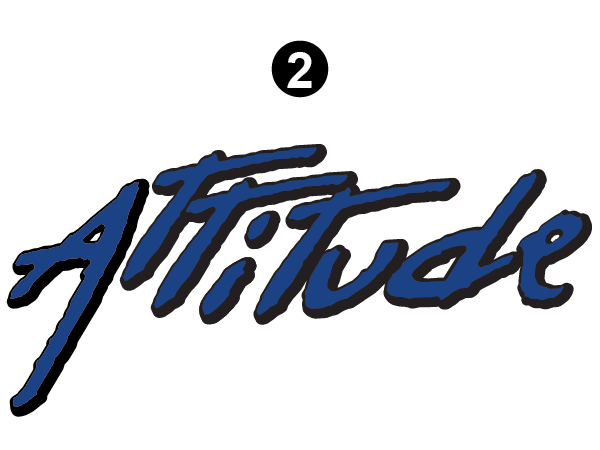 "Tag Line Attitude Logo 18"""