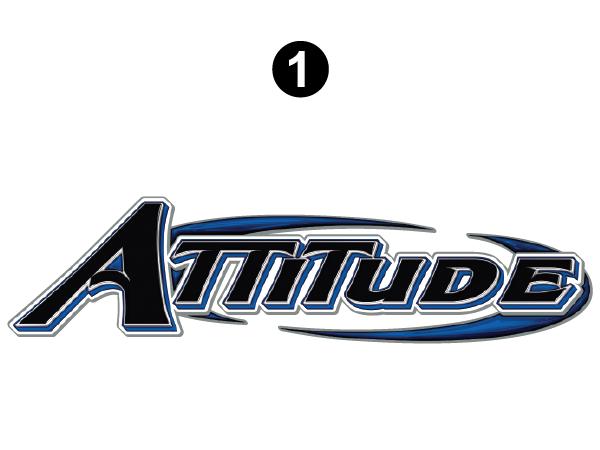 """Large Attitude Logo 69.75"""""""