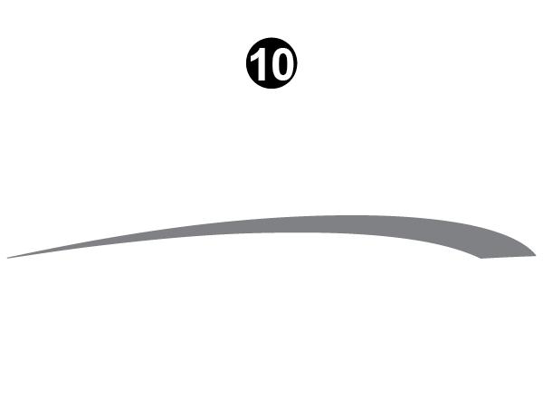 Side Upper Die Cut #2