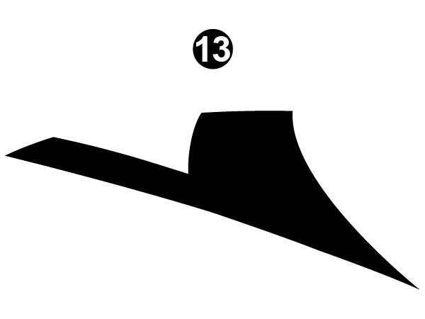 Side Center Upper D/C #1