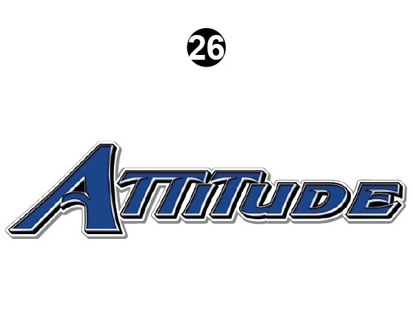 Attitude Tag Line Logo