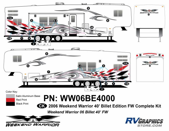 2006 Weekend Warrior Complete 40 FW Billet Kit