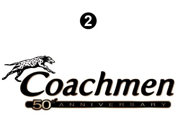 Coachmen 50th logo