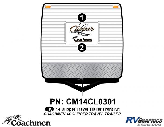 2014 Coachmen Clipper Front Kit