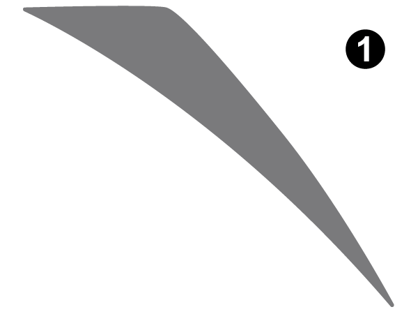 Fwd Upper Corner-C/S (Curbside) RH / PS