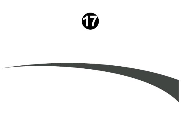 Rear Lower Thin Sweep-R/S (Roadside) LH / DS