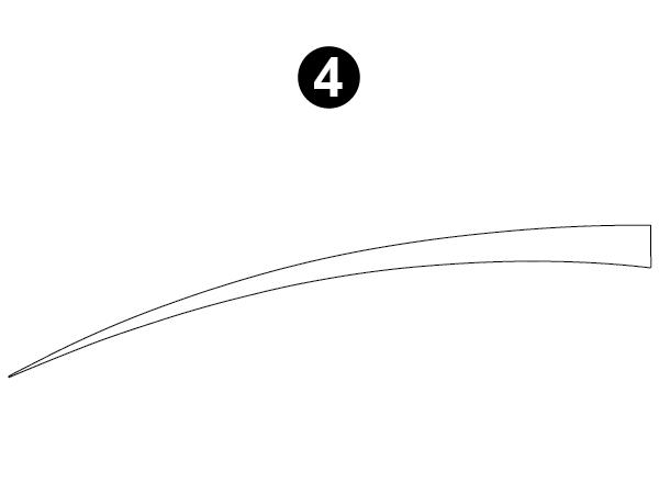 Rear Upper Spear  (E)