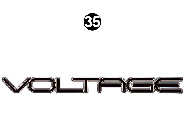 Front / Rear Voltage Logo