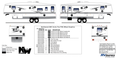 Northwood - Arctic Fox - 2001 Arctic Fox FW-Fifth Wheel