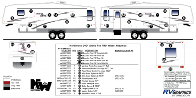 Northwood - Arctic Fox - 2004 Arctic Fox FW-Fifth Wheel