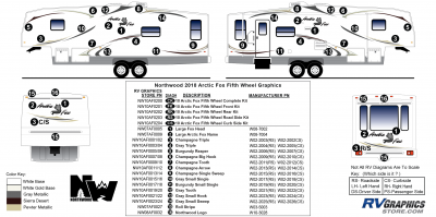 Northwood - Arctic Fox - 2010 Arctic Fox FW-Fifth Wheel