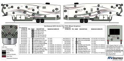 Northwood - Arctic Fox - 2013 Arctic Fox FW-Fifth Wheel