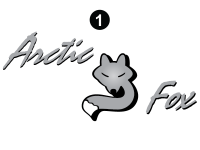 Arctic Fox - 2006 Arctic Fox FW-Fifth Wheel - Large Fox Logo