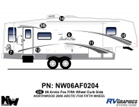 Arctic Fox - 2006 Arctic Fox FW-Fifth Wheel - 2006 Arctic Fox FW Right Side Kit