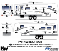 Arctic Fox Silver Fox Edition - 2006 FW-Fifth Wheel - 2006 Arctic Fox Silver Fox Edtion FW Complete Kit