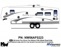 Arctic Fox Silver Fox Edition - 2006 FW-Fifth Wheel - 2006 Arctic Fox Silver Fox Edtion FW Left Side Kit