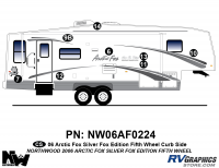 Arctic Fox Silver Fox Edition - 2006 FW-Fifth Wheel - 2006 Arctic Fox Silver Fox Edtion FW Right Side Kit