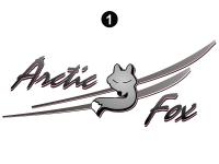 Arctic Fox - 2007 Arctic Fox FW-Fifth Wheel - Front Cap Assembly