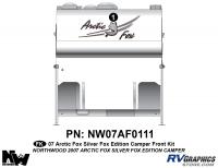 2007 Arctic Fox Silver Fox Edition CamperFront Kit